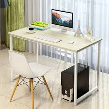 laptop office desk. simple modern desktop office desk durable laptop table computer furniture study writing