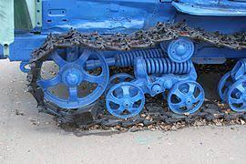 Трактор Википедия Ходовая часть быстроходного гусеничного трактора ДТ 75