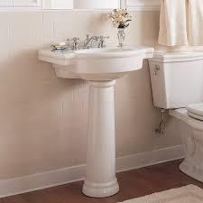 retrospect 27 inch pedestal sink american standard with remodel 1