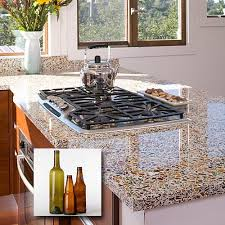 recycled glass kitchen countertops 33 best vetrazzo recycled glass countertops images on