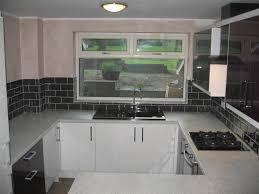 Black White Kitchen Tiles Kitchen Tile Ideas Black Worktop Kitchen Beige Shelves Circle