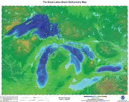 Great Lakes Bathymetry And Shoreline Data Noaa Great Lakes