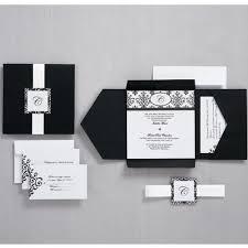 black and white scroll monogram pocket invitation wilton Printable Wedding Invitation Kits Purple Printable Wedding Invitation Kits Purple #36 Printable Wedding Invitation Templates Blank