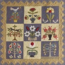 Pick Your Flowers applique quilt project | Timeless Traditions ... & Pick Your Flowers quilt photo Adamdwight.com