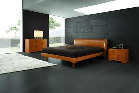 modern wood bedroom furniture. Modern Wood Bedroom Set In Black Bedoom Interior Design And White Rug: Full Furniture E