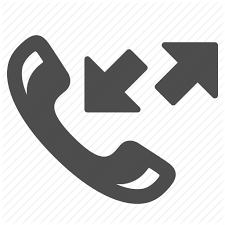Icon Arrows Telephone Phone Incoming Calls Outgoing TrwTXf