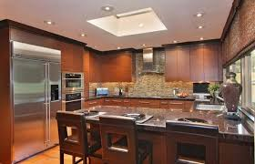 best placement for kitchen recessed lighting over kitchen