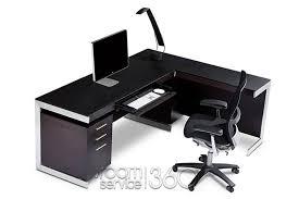 incredible office furnitureveneer modern shaped office. incredible office furnitureveneer modern shaped amazing of l desk sequel suite v
