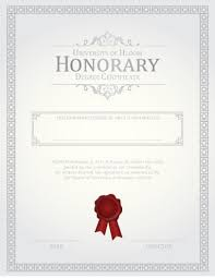 √ Sample Blank Certificate Of Recognition Outstanding Honorary ...