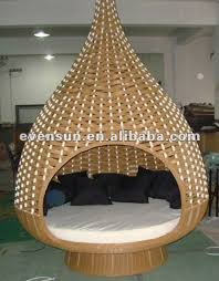 1pc rattan hanging bed