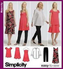 Maternity Patterns Extraordinary Simplicity 48