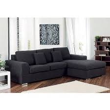dwell verona right hand corner sofa bed in charcoal excellent condition rrp 1 995