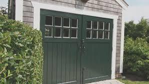 swing out garage doorsOutswing Garage Doors  This Small Basement Garage Had An Old