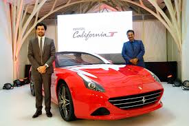 with s starting from inr 3 4 crore ex showroom mumbai the california t will be available in mumbai at the new ferrari dealership navnit motors