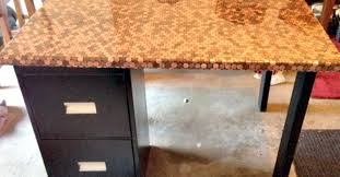 image of penny countertops desk