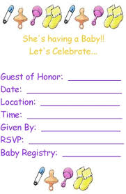 baby shower invitation blank templates free printable baby shower invitation