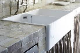 brick style countertop