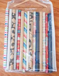organization inspiration clever and cute gift wrap organizing s apartment therapy