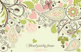 Floral Borders For Word Free Floral Word Document Frame Borders Free Vector Download