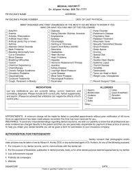 Contemporary Bsa Health Form Sketch - Administrative Officer Cover ...