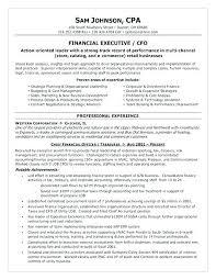 Sample Director Of Finance Resume Cfo Sample Resume Sample Resume Resume Resume Sample Vice President