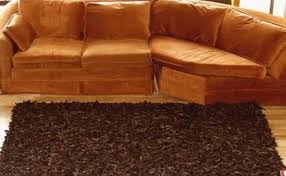 dark brown rugs leather area rugs