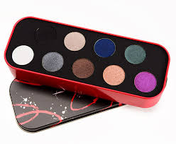 makeup forever 9 artist eyeshadow palette 0 05 oz each shade tin case ebay