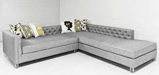 New Deep Sectional in Watson Grey Linen