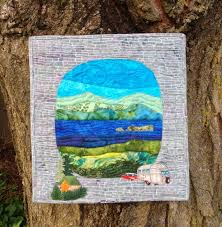 "Tuesdays Favorite Finds #12 Camping Quilts & Airstream Camping Quilt Textile Art by Carol McDowell. "" Adamdwight.com"