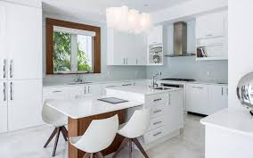 modern home office featuring glossy white. Modern Home Office Featuring Glossy White. Kitchen Features Thoroughly Appointments, Including White D