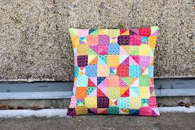 In Color Order: Mystery Quilted Pillow Pattern & Mystery Quilted Pillow Pattern by Jeni Baker Adamdwight.com