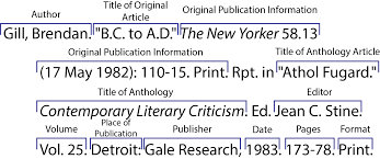 Print Sources Citing Information Libguides At University Of