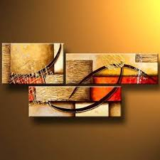 wieco art 3 pcs modern stretched and framed abstract 100 hand painted oil paintings artwork on canvas wall art ready to hang deco for living room bedroom  on amazon uk wall art canvas with framed artwork for walls amazon uk