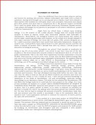 College Personal Statement Examples College Admission Personal Statement Example Personal