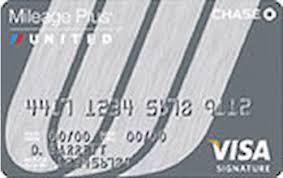 united mileage plus select visa credit