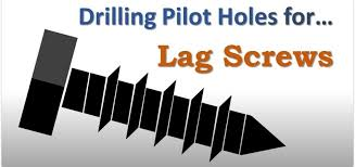 Lag Screw Pilot Hole Sizes For Wood Best Drill Bit Size