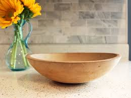 3 easy steps to give new life to an old wood bowl