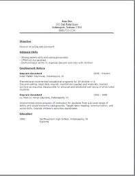 Child Care Sample Resume Rentaroofus Fascinating Child Care Resume Sample
