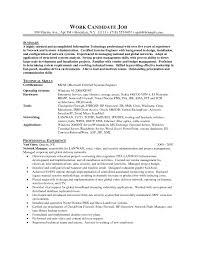 System Administrator Resume Objective Yupar Magdalene