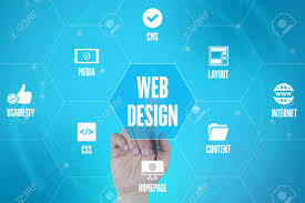Touch Screen Web Design Web Design Technology Communication Touchscreen Futuristic Concept