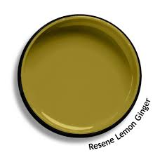 Resene Lemon Ginger Is A Deep And Spicy Mustard Yellow Green