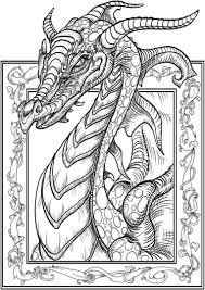 Jake long and dragon tales. 20 Free Printable Dragon Coloring Pages For Adults Everfreecoloring Com