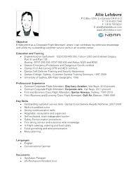 Sample Flight Attendant Resume Corporate Flight Attendant Resume ...