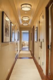 bright runners can be used for making an hallway look bigger