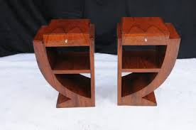 deco art deco and bedside tables on pinterest art deco replica furniture