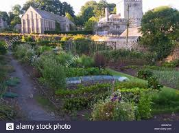 Walled Kitchen Gardens Walled Vegetable Garden Stock Photos Walled Vegetable Garden