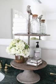 Bathroom counter decorating ideas Tray The Picket Fence Projects Refreshing Rearranging Bathroom Counter Decor Rustic Bathroom Decor Bathroom Pinterest 97 Best Bathroom Counter Decor Images Home Decor Bathroom