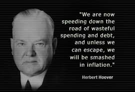 Pres. Herbert Hoover: Cut the deficit « Beaver County Blue via Relatably.com