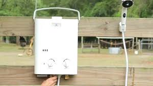 eccotemp l5 portable tankless water heater and outdoor shower portable water heater eccotemp l5 portable tankless