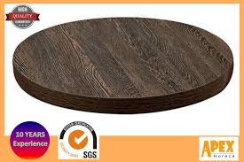 wood round table top melamine restaurant vintage table top
